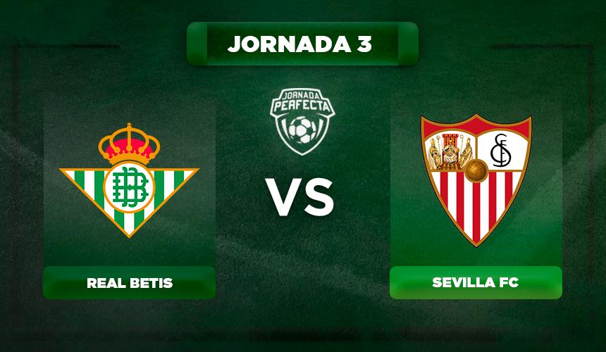 Alineación Betis - Sevilla