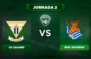 Alineaciones Leganés - Real Sociedad