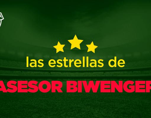 Las estrellas de Asesor Biwenger