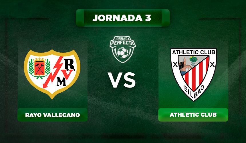 Alineación Rayo - Athletic
