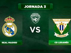 Alineación Real Madrid - Leganés