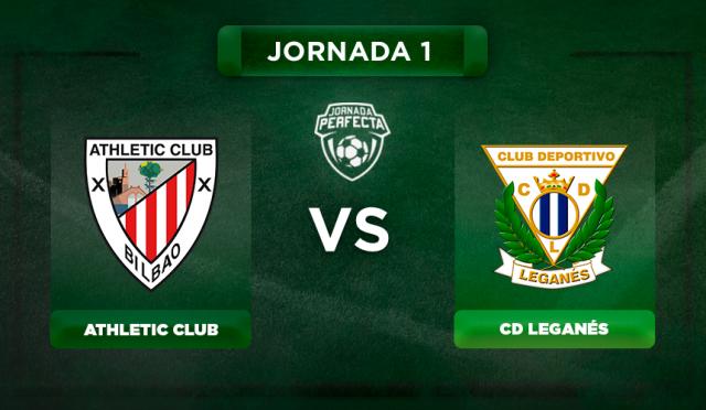 Alineaciones Athletic - Leganés