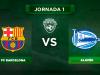 Alineaciones Barça - Alaves