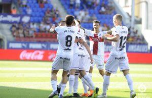Jugadores Huesca
