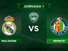 Onces Real Madrid - Getafe