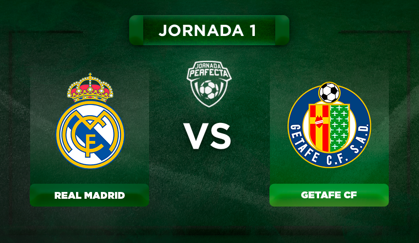 Onces Real Madrid - Getafe