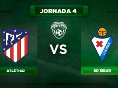 Alineación Atlético - Eibar