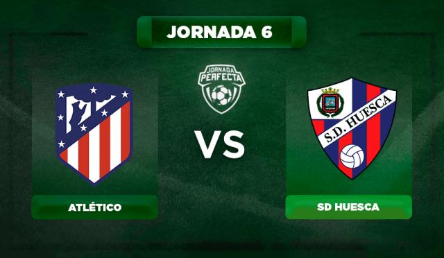 Alineación Atlético - Huesca