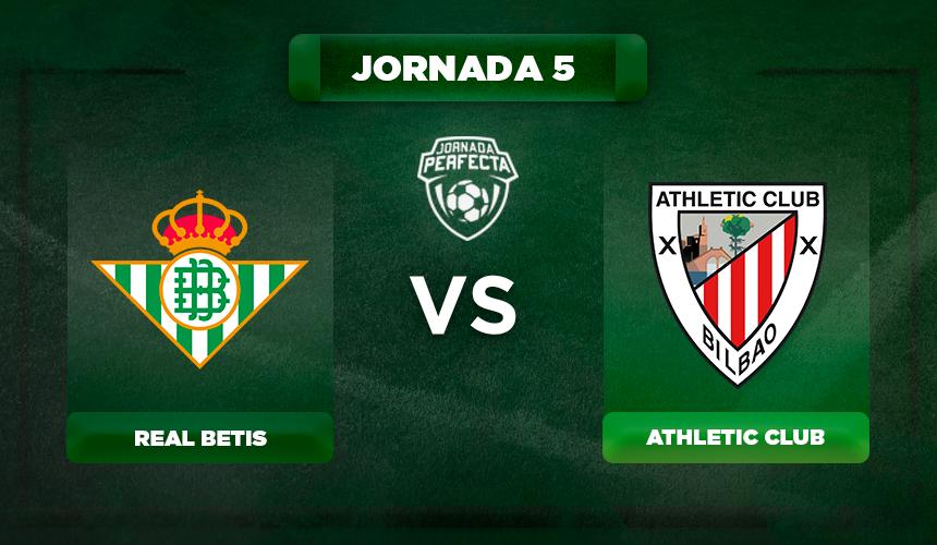 Alineación Betis - Athletic