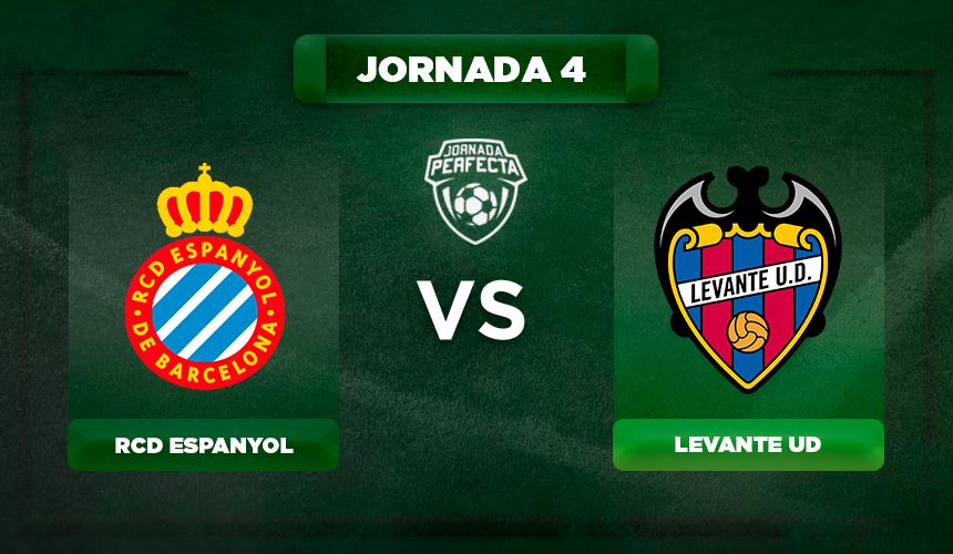 Alineación Espanyol - Levante