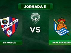 Alineación Huesca - Real Sociedad