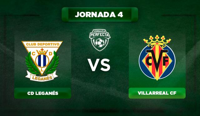 Alineación Leganés - Villarreal