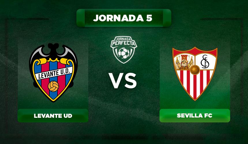 Alineación Levante - Sevilla