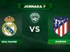 Alineación Real Madrid - Atlético
