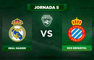 Alineación Real Madrid - Espanyol