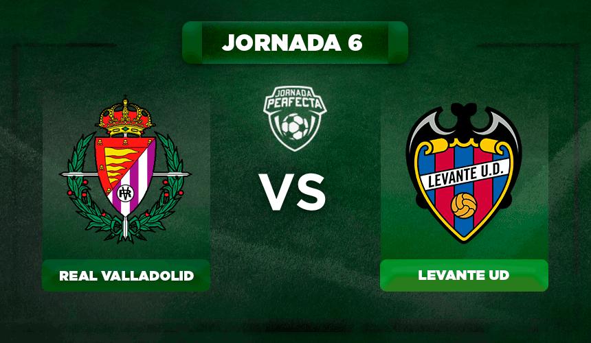 Alineación Valladolid - Levante