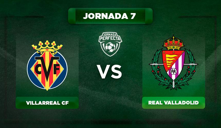 Alineación Villarreal - Valladolid
