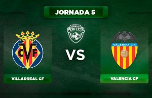Alineación Villarreal - Valencia