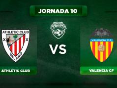 Alineación Athletic - Valencia