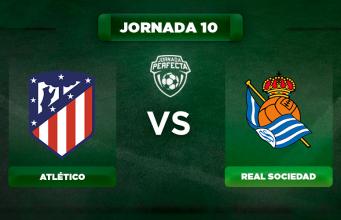 Alineación Atlético - Real Sociedad