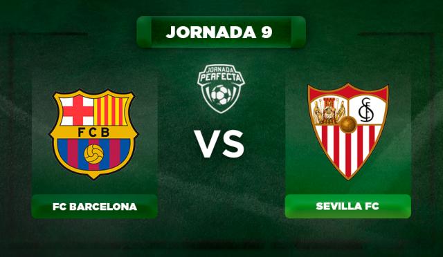 Alineación Barça - Sevilla