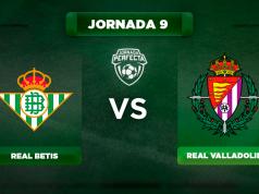 Alineación Betis - Valladolid