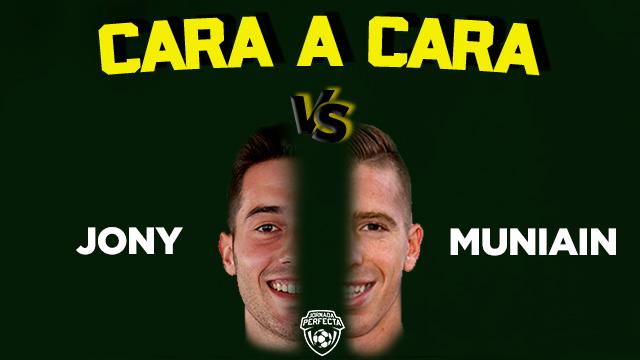Cara a cara Jony Muniain