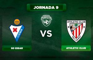Alineación Eibar - Athletic