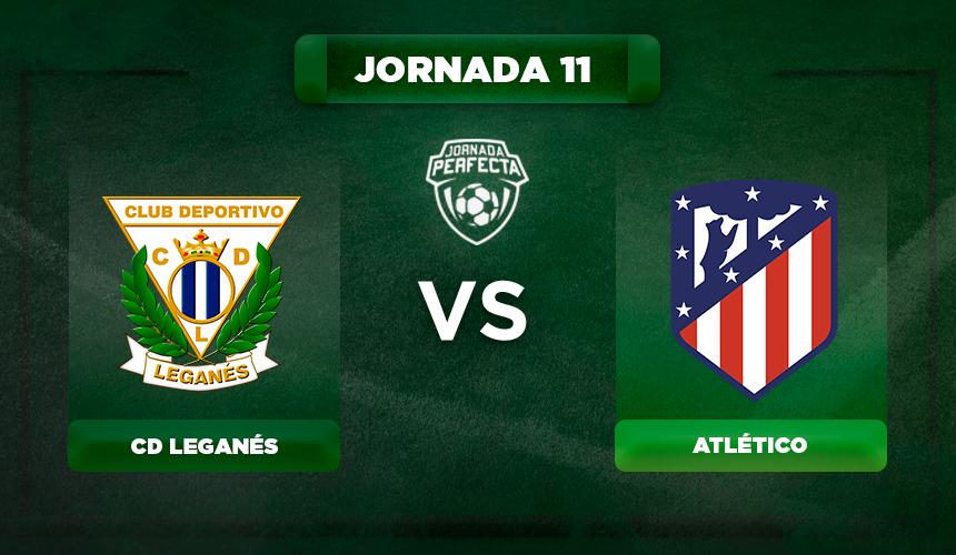 Alineación Leganés - Atlético