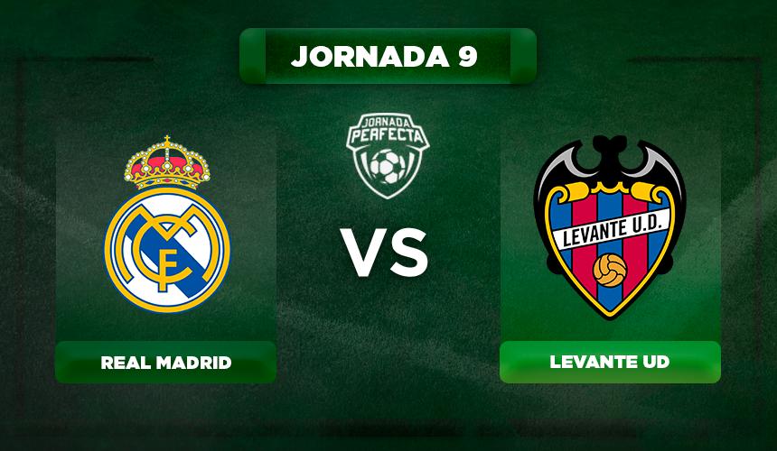 Alineación Real Madrid - Levante