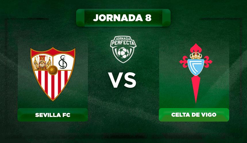 Alineación Sevilla - Celta