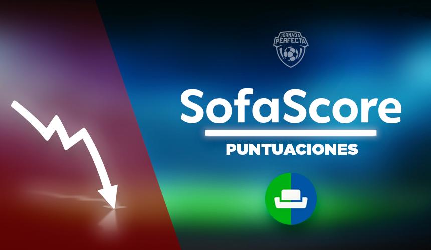 SofaScore Puntuaciones