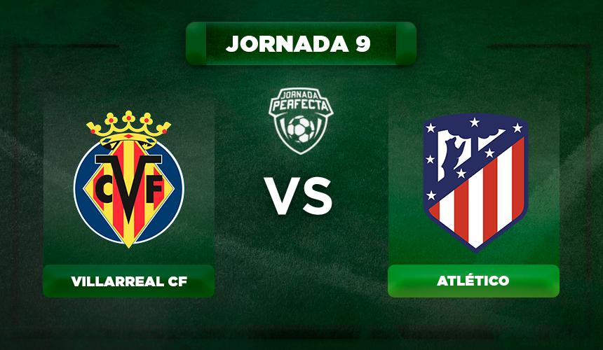 Alineación Villarreal - Atlético