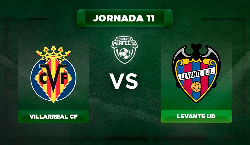 Alineación Villarreal - Levante