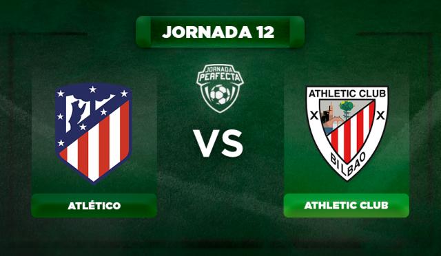 Alineación Atlético - Athletic