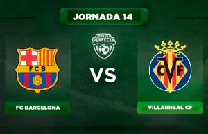 Alineación Barça - Villarreal