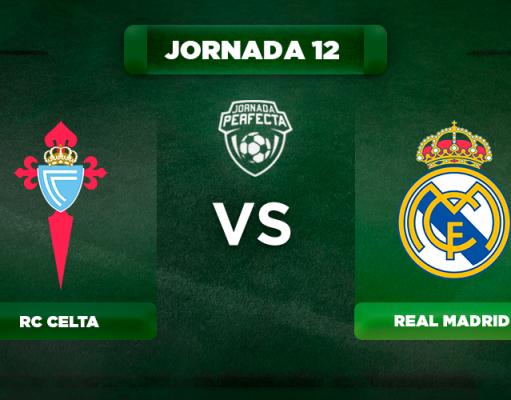 Alineación Celta - Real Madrid