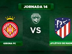 Alineación Girona - Atlético