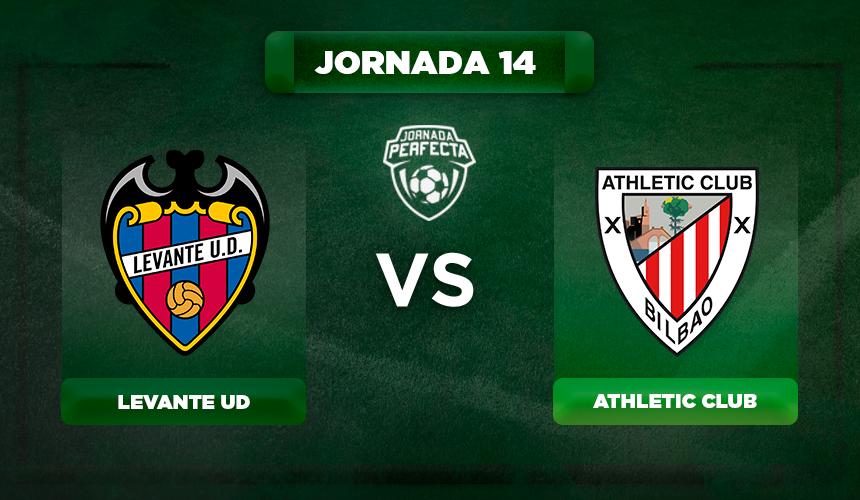 Alineación Levante - Athletic