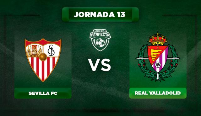 Alineación Sevilla - Valladolid