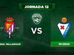 Alineación Valladolid - Eibar