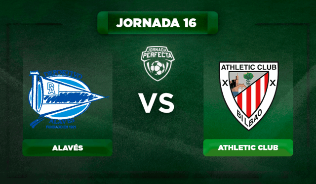Alineación Alavés - Athletic