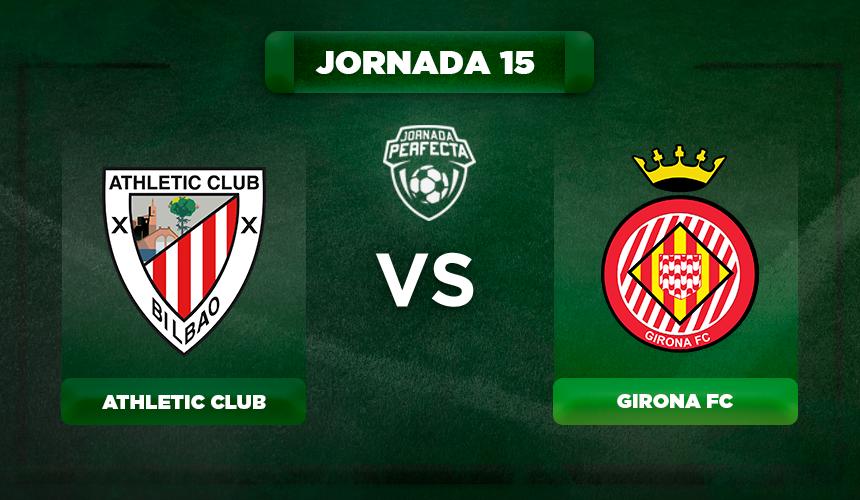 Alineación Athletic - Girona