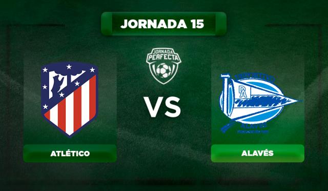 Alineación Atlético - Alavés