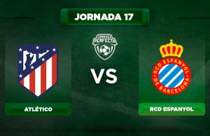 Alineación Atlético - Espanyol