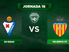 Alineación Eibar - Valencia