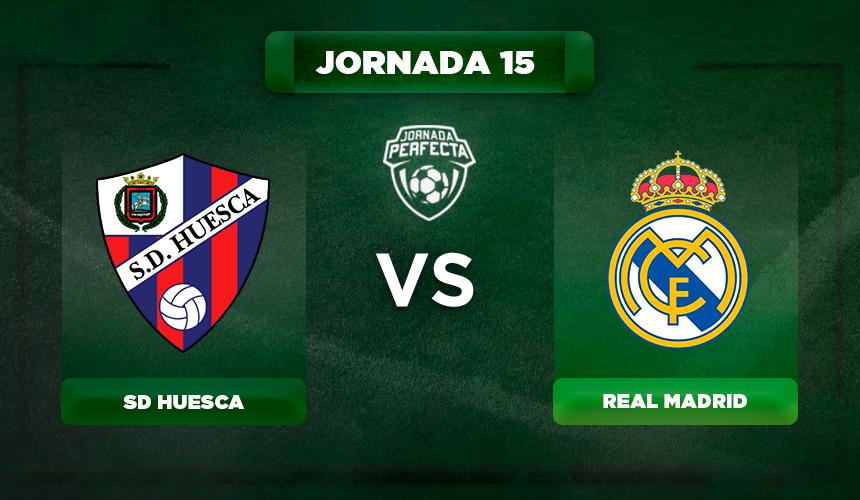 Real Madrid cumplió con el trámite y derrotó al colista Huesca