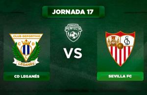 Alineación Leganés - Sevilla