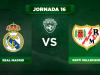 Alineación Real Madrid - Rayo
