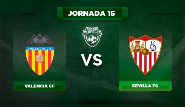 Alineación Valencia - Sevilla